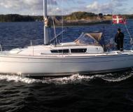 Segelyacht Sun Odyssey 33i Performance Yachtcharter in Dyvig Marina