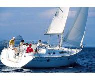 Sailing boat Sun Odyssey 34 available for charter in Marina Macinaggio