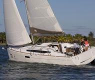 Sailing boat Sun Odyssey 349 available for charter in Portisco