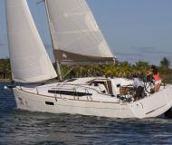 Sailing yacht Sun Odyssey 349 for hire in Grand Harbour Marina