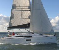 Sailing yacht Sun Odyssey 349 for rent in Port of Skopelos