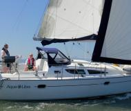 Sailing boat Sun Odyssey 35 available for charter in Granville Island Boatyard