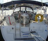 Sailing yacht Sun Odyssey 35 for hire in Edil Nautica Marina