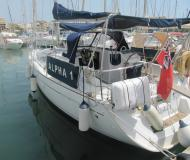 Segelboot Sun Odyssey 35 Yachtcharter in Hafen von Alcudia