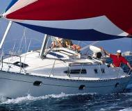 Sailing yacht Sun Odyssey 36i available for charter in Dyvig Marina