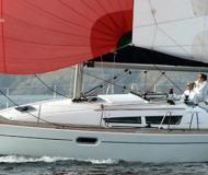 Sailing yacht Sun Odyssey 36i available for charter in Marina de Denia