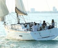 Yacht Sun Odyssey 379 available for charter in Marina Praslin