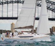 Sailing yacht Sun Odyssey 379 for charter in Hyeres Harbour
