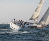 Sailing boat Sun Odyssey 409 available for charter in Baie Sainte Anne