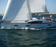 Sailing boat Sun Odyssey 42 DS for rent in Le Marin