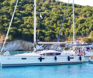 Sailing yacht Sun Odyssey 42 DS for rent in Lefkas