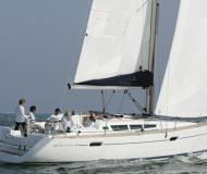 Sailing yacht Sun Odyssey 42i for rent in Tourlos Marina
