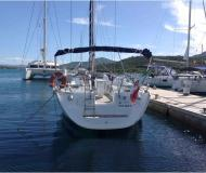 Sailing boat Sun Odyssey 43 available for charter in Marina di Portisco