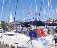 Yacht Sun Odyssey 439 available for charter in Seget