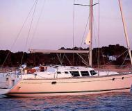 Sailing yacht Sun Odyssey 43DS for hire in Port d Alcudia