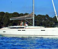 Yacht Sun Odyssey 449 available for charter in Kos Marina