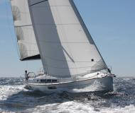 Sailing boat Sun Odyssey 44i for rent in Marigot Bay Marina
