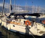 Sail boat Sun Odyssey 45.2 available for charter in Gouvia