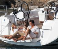 Yacht Sun Odyssey 469 available for charter in Puerto Del Rey Marina