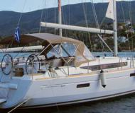 Sailing yacht Sun Odyssey 469 for rent in Limin Poros