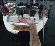 Sailing yacht Sun Odyssey 49 for hire in Gouvia Marina