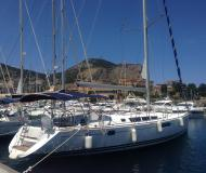 Sailing boat Sun Odyssey 49i available for charter in Marina Villa Igiea