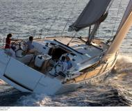 Sailing yacht Sun Odyssey 509 for rent in Hyeres Harbour
