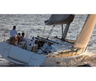 Sailing boat Sun Odyssey 509 available for charter in Port Louis Marina