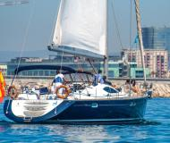 Yacht Sun Odyssey 54 DS for hire in Port Olimpic Marina