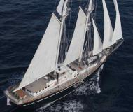 Sail boat SY Mephisto available for charter in Cannes