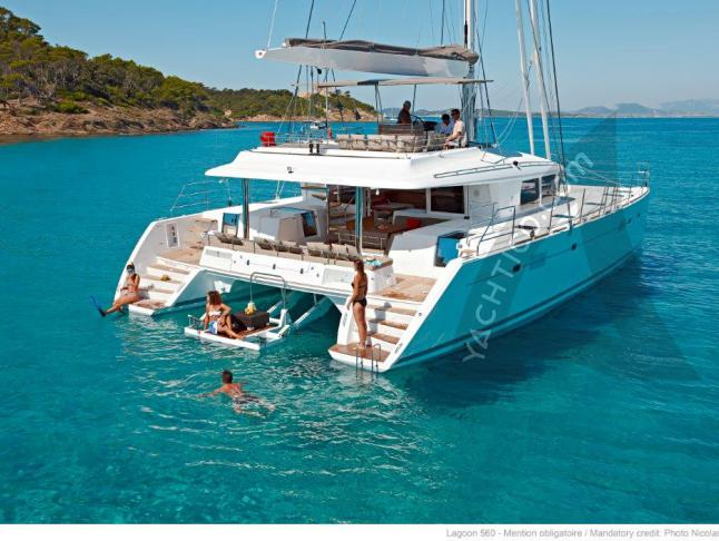 Kat Lagoon 560 Yachtcharter in Split