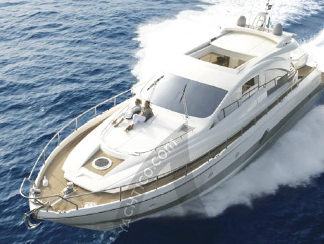 Aicon 72 Motoryacht Charter Palermo