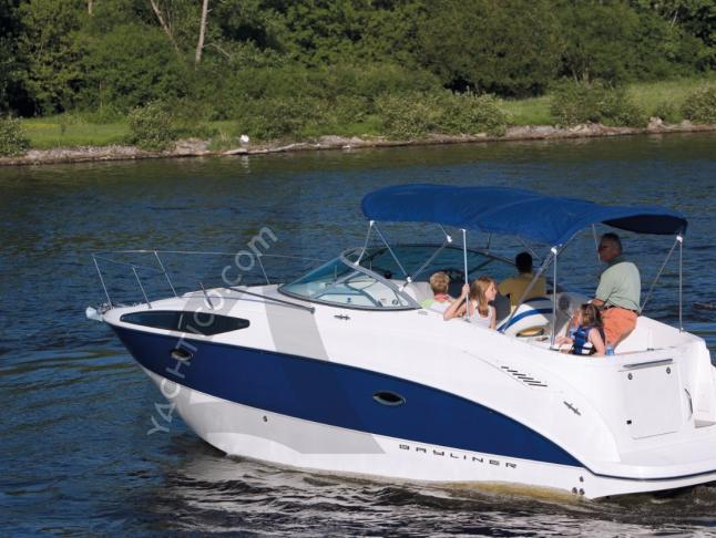 Motoryacht Bayliner 265 Ciera Yachtcharter in Krk