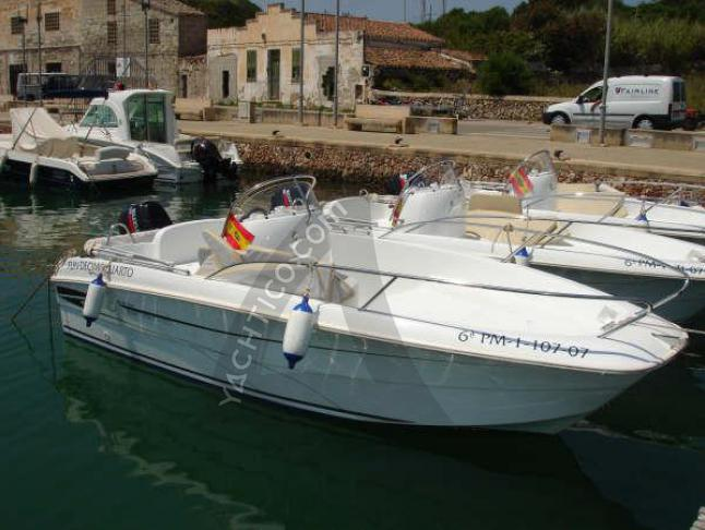 Motoryacht Flyer 500 open chartern in Port de Mahon