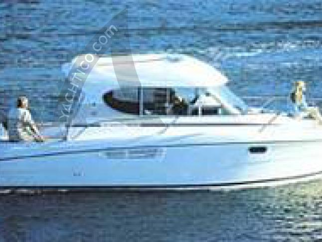 Motoryacht Merry Fisher 805 available for charter in Marina am Tiefen See
