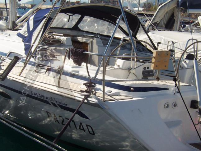 Bavaria 46 Cruiser Segelboot Charter Palermo