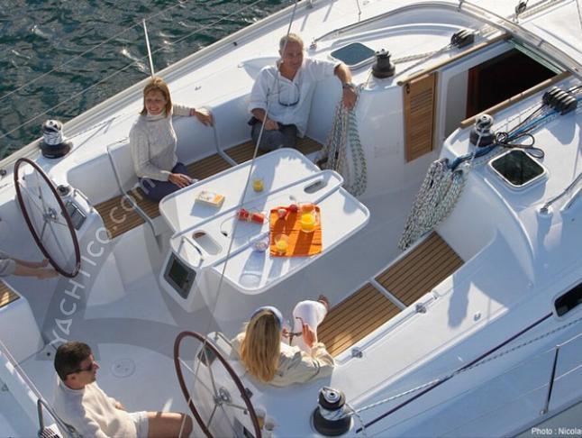 Segelboot Cyclades 50.4 chartern in Marina di Portorosa