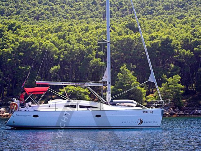 Segelboot Elan 384 Impression Yachtcharter in Kastela