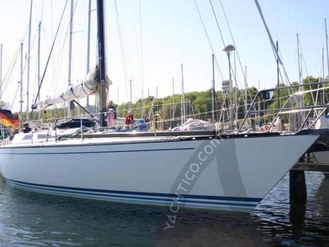 Elan 431 Segelyacht Charter Flensburg