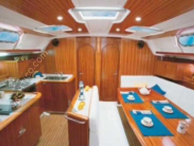 Gib Sea 51 Segelyacht Charter Sukosan Bibinje