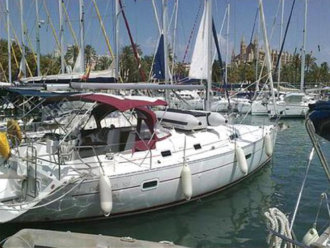 Yacht Oceanis 361 Yachtcharter in Marina La Lonja