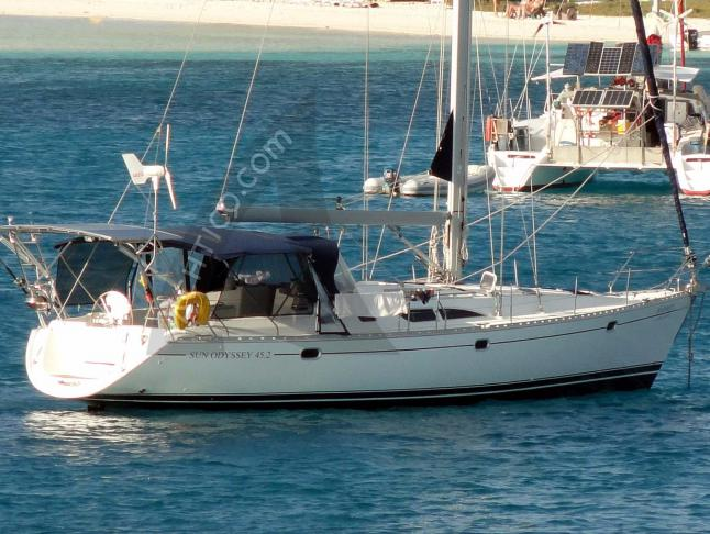 Sun Odyssey 45.2 Segelyacht Charter Marmaris