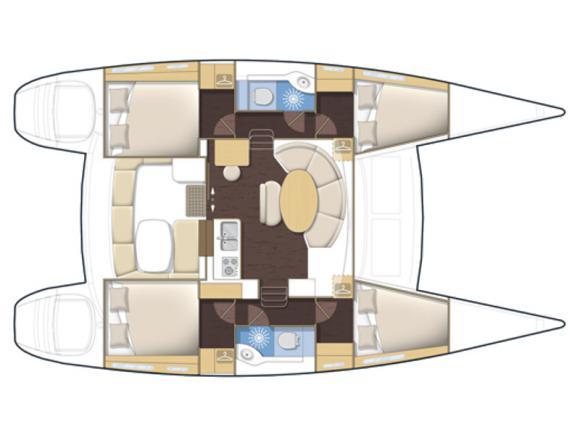 Kat Lagoon 380 chartern in S Arenal-29279-0