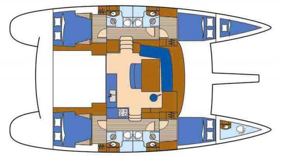 Katamaran Lagoon 440 - Yachtcharter in Olbia-76301-0