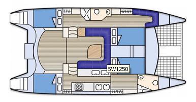 Kat Seawind 1250 Yachtcharter in Airlie Beach-32012-0