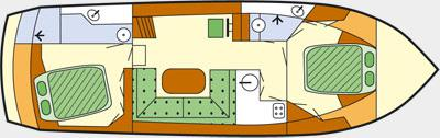 Houseboat Proficiat 1175 Exclusive for rent in Waren-21721-0