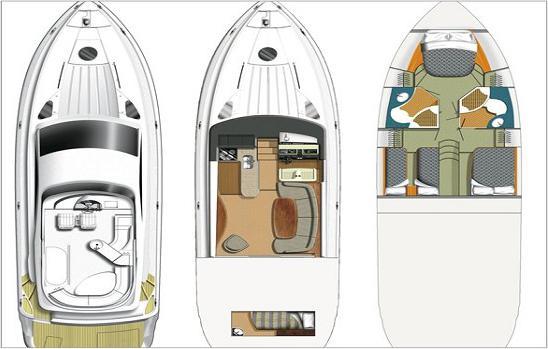 Motoryacht Fairline Phantom 50 in Denia leihen-29980-0