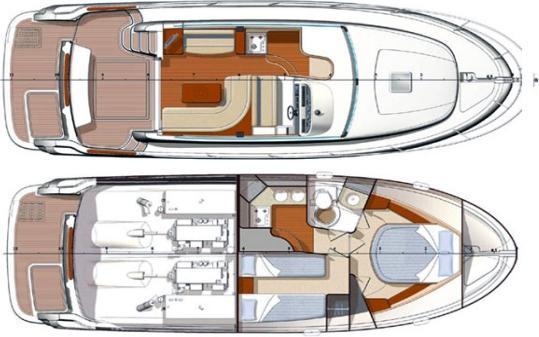 Motoryacht Prestige 36 in Split mieten-30396-0