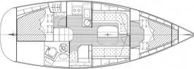 Yacht Bavaria 33 Cruiser in Alghero leihen-28214-0