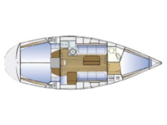 Segelyacht Bavaria 34 Cruiser Yachtcharter in Gothenburg-120449-0